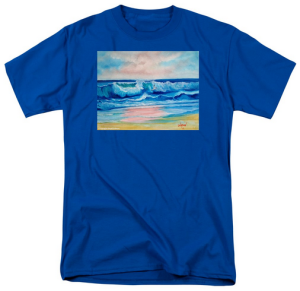 """Surf At Sunset"" T Shirt BUY $28"