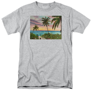 """Tropical Paradise"" T Shirt BUY $28"