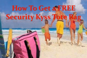 How To Get a FREE Security Tote Bag