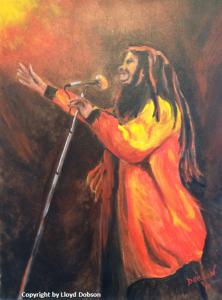 """Bob Marley Sings Jammin"""