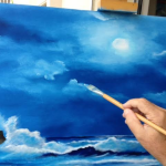 11_-_Me_Creating_A_Painting_-_Hand_Showing_