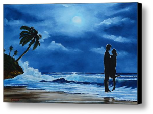 """You - Me - Each Other"" Canvas Print BUY"