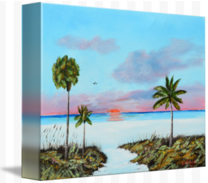 """Another Siesta Key Sunset"" Starting at $75 BUY"