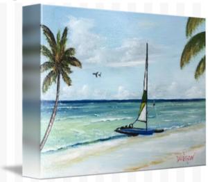 """""""Catamaran On The Beach"""" Starting at $75 BUY"""