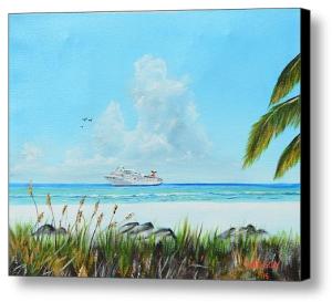 """""""Destination Paradise"""" Canvas Print BUY"""