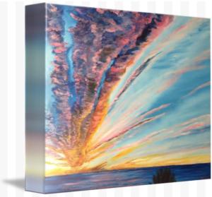 """God's Sunset Masterpiece On Siesta Key"" Starting at $75 BUY"