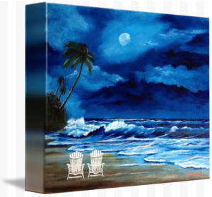 """Let's Watch The Moon Light"" Starting at $75 BUY"