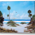 """Siesta Key Fun"" Metal Art"
