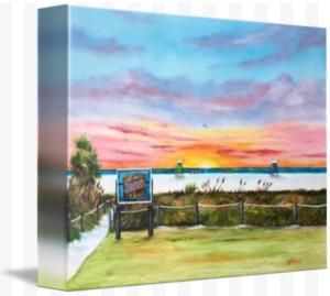 """Sunset At Siesta Key Public Beach"" Starting at $75 BUY"