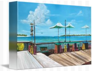 """""""Sunset Pier Tiki Bar Key West"""" Starting at $75 BUY"""