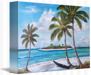 """Tropical Island"" Starting at $75 BUY"