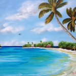 Art_-_#121915_-_Somewhere_In_Paradise_-_16x20