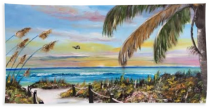 """Paradise Beach"" Beach Towel BUY"