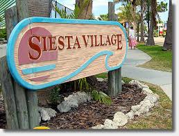 1 - Siesta Village Sign
