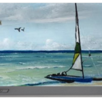 """Catamaran On The Beach"" Portable Battery Charger BUY"