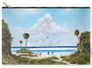 """In Paradise"" Carry-all Pouch BUY"