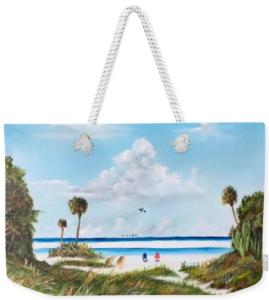 """""""In Paradise"""" Weekender Tote Bag BUY"""