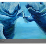 """Manatees Socializing"" Portable Battery Charger BUY"
