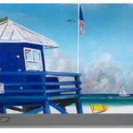 """Meet At The Blue Lifeguard Shack"" Portable Battery Charger BUY"