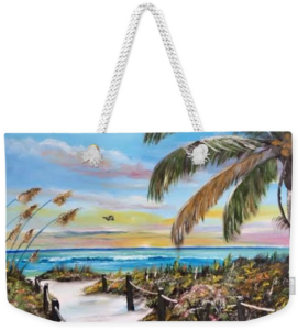 """""""Paradise"""" Weekender Tote Bag BUY"""