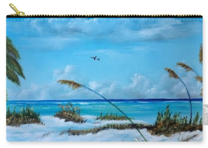 """Sea Grass On The Key"" Carry-all Pouch BUY"