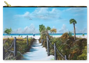 """Siesta Beach Access"" Carry-all Pouch BUY"