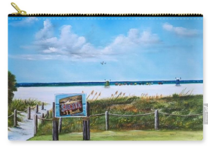 """Siesta Key Public Beach"" Carry-all Pouch BUY"