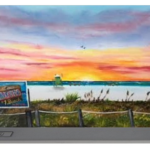 """Sunset At Siesta Key Public Beach"" Portable Battery Charger BUY"