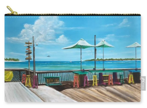 """Sunset Pier Key West"" Carry-all Pouch BUY"