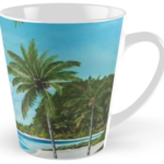 """A Tropical Paradise"" Tall Mug BUY $15"