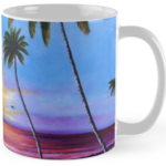 """Fishing Pier At Sunset"" Std. Mug BUY $15"