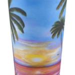 """""""Fishing Pier At Sunset"""" Travel Mug BUY $25"""