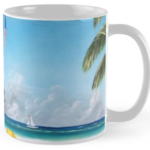 """Meet At Blue Lifeguard Stand"" Std Mug BUY $15"