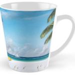 """Meet At Blue Lifeguard Stand"" Tall Mug BUY $15"