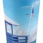 """Meet At Blue Lifeguard Stand"" Travel Mug BUY $25"