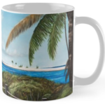 """Paradise Beach Access"" Std Mug BUY $15"