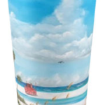 """Path On Siesta Key To The Red Lifeguard Stand"" Travel Mug BUY $25"