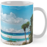 """Path On Siesta Ket To The Red Lifeguard Stand"" Std Mug BUY $15"