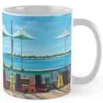 """Sunset Pier Tiki Bar"" Standard Mug BUY $15"