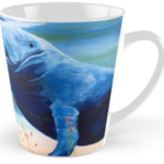 """Two Manatees Socializing"" Tall Mug BUY $15"