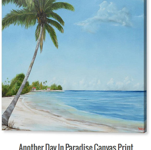 Art_-_Another_Day_In_Paradise_-_Canvas_Print