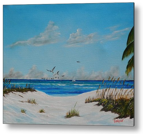 Art_-_Sea_Gulls_On_The_Key_-_Metal_Print